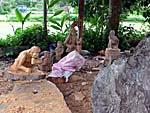 布農部落の木工加工場所