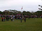 プユマ族の大猟祭会場