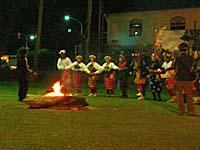 巴布麓部落:規模が小さめの大猟祭