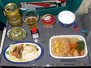 日本航空 台湾線 高雄発はこんなもんかな。