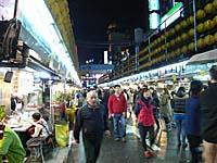 基隆の夜市
