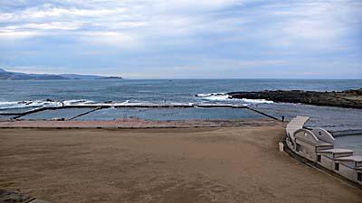 基隆の和平島公園にあるプール。
