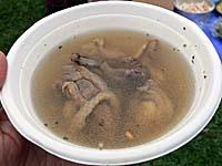 麻油鶏:鶏酒スープ