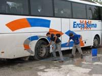 何の気なしにバス掃除