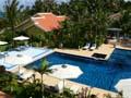 フーコック島のグランドメルキュールラ・ベランダリゾート&スパのプール