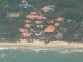 フーコック島のグランドメルキュールラ・ベランダリゾート&スパ 空撮