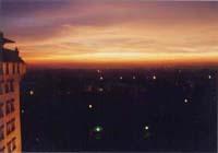 アショカホテルからの夕焼け