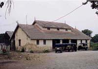 ウナの駅舎