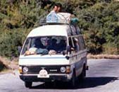 乗り合いミニバス