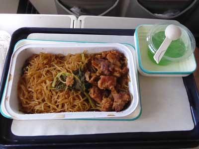 ガルーダ ジャカルタ-アンボン機内食