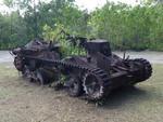 ペリリュー島に残された日本の戦車