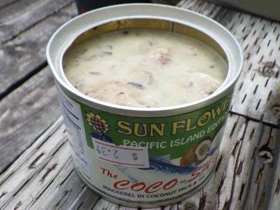 サバ缶のココナッツミルク煮