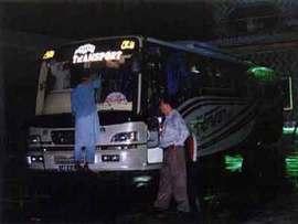 道路事情がよいパキスタン。早い、安い、綺麗なバスでも時には不快。