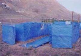 インドの祭りのテント村は、風呂なし、メシなし、恥もなし。