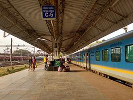 インドの列車のチケット・切符の手配について