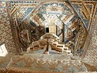 アルチ・ゴンパの僧院の天井壁画