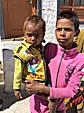 スピトクで会った男の子と弟