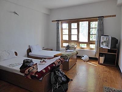 ジグギャスゲストハウスの部屋