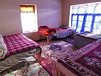 アムチホームステイ宿泊した部屋