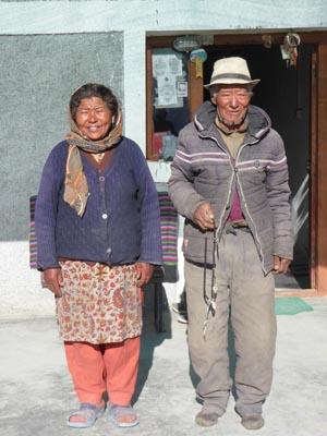 ママとおじいちゃん