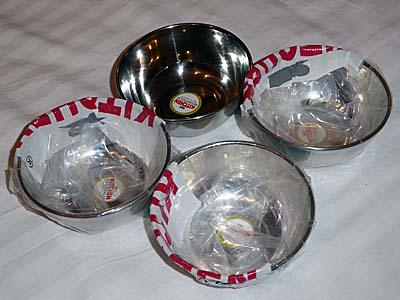 100円ショップっぽいお店で手に入れたカレー皿