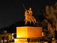 ジャンムー・カシミール藩王国初代藩主グラブシンの像