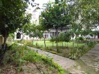 ムバラクマンディ中庭