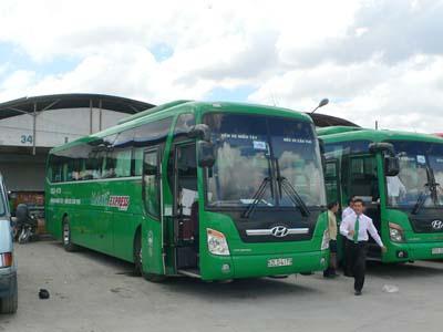 ホーチミン→ロンスエン:マイリン社のエクスプレスバスで大移動