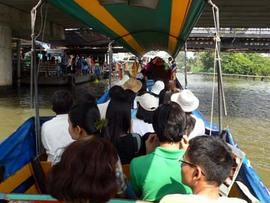 バンコク近郊散歩:タリンチャン水上マーケットにゆくの巻(2)