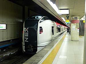 新型成田エクスプレスE259乗車!デザインと技術に「力」入ってます!