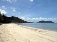 コンダオ島のビーチ