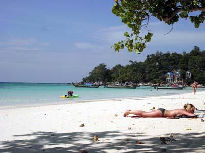 元海賊島。今はクリスマス休暇島:リペ島・パタヤビーチ。