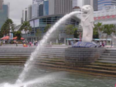 マレー半島縦断の最期は当然シンガポール。