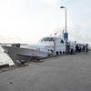 スーパードン社のコンダオI号でコンダオ島へ。早くて快適な船でした。