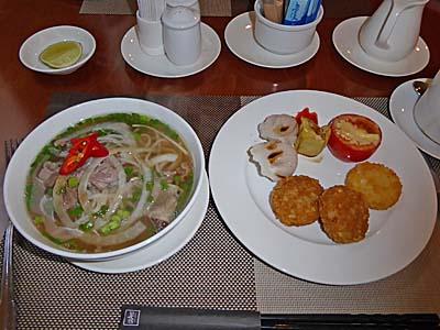 グランドホテルサイゴン朝食例