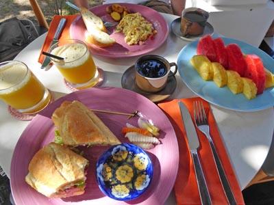 ヴィラメゾンの朝食2