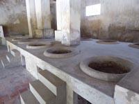 フーハイ刑務所の炊事場